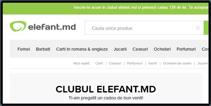 Elefant.md in Moldova