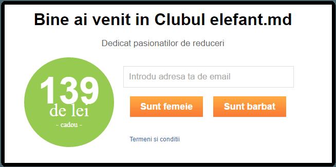 Reduceri Elefant Moldova