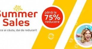 eMAG Summer Sales - reduceri 75%