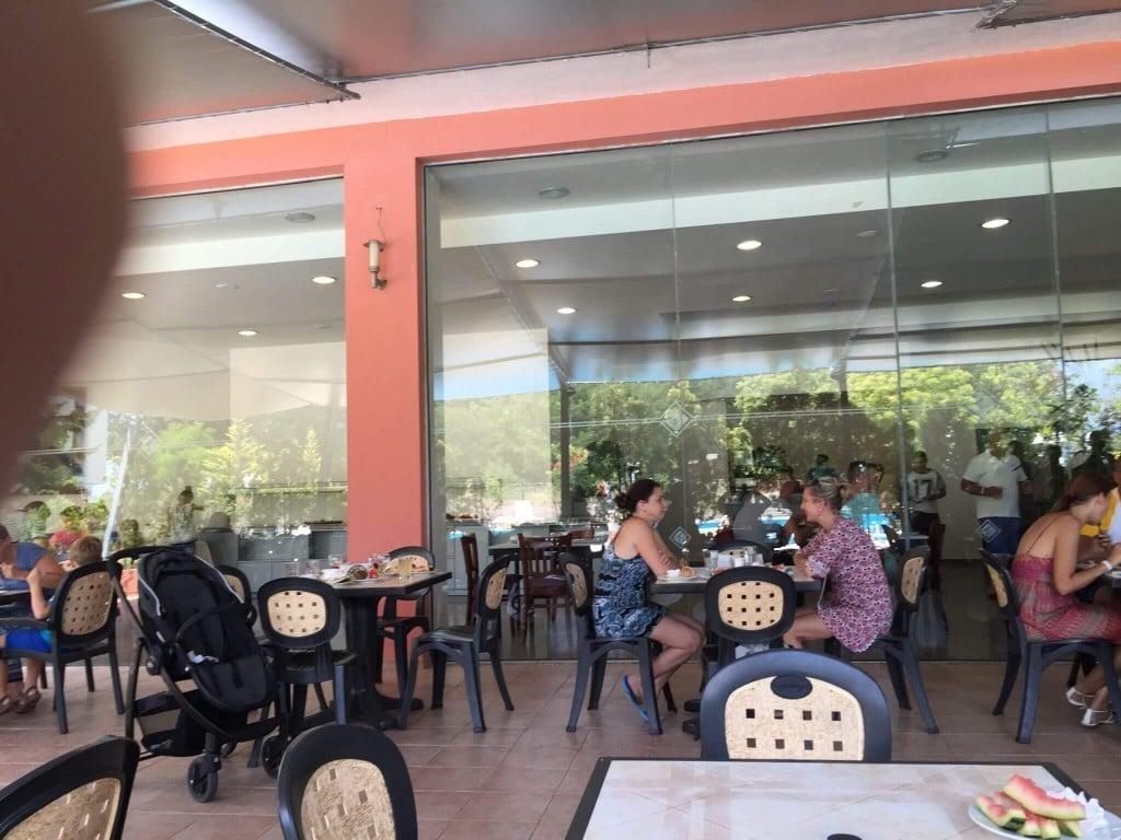 Restaurant terasa Aronia, Sunny Beach