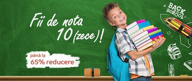 Reduceri Back to School la eMAG in perioada 12 august-8 septembrie
