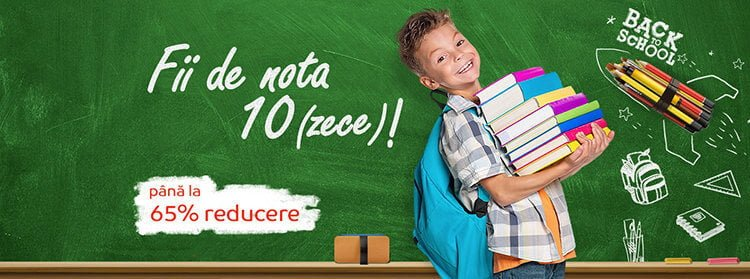 Reduceri eMAG Back to School 2019