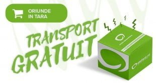 Transport gratuit pe elefant.ro in luna august