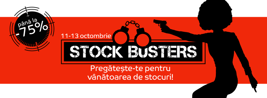 eMAG Stock Busters Octombrie 2016