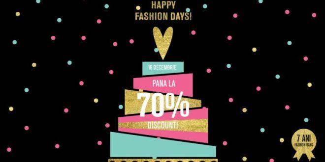 Fashion Days aniverseaza 8 ani cu reduceri de 70%