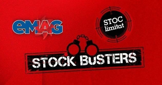 eMAG Stock Busters-reduceri la peste 45000 de produse in februarie 2018