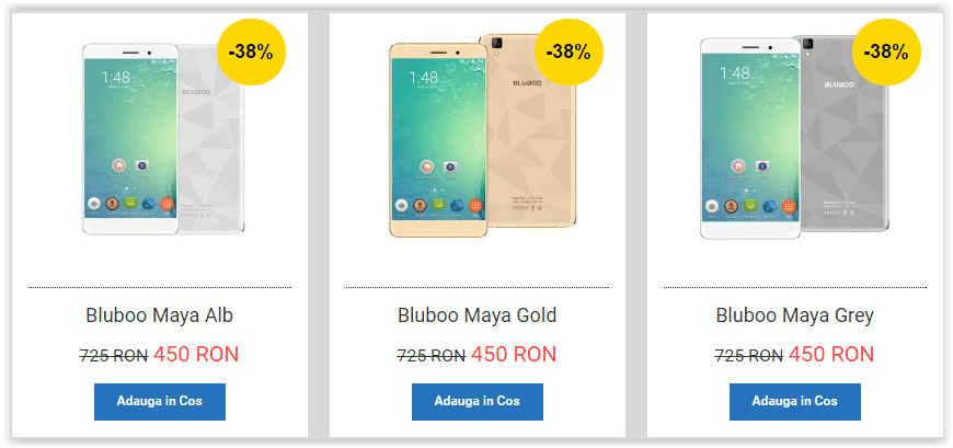 Telefon Bluboo Maya pret redus