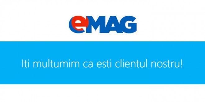 Voucher eMAG cadou pentru clienti fideli