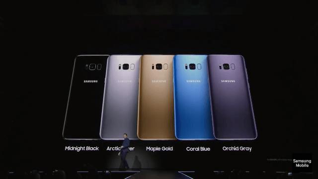 Precomanda si pret Samsung Galaxy S8