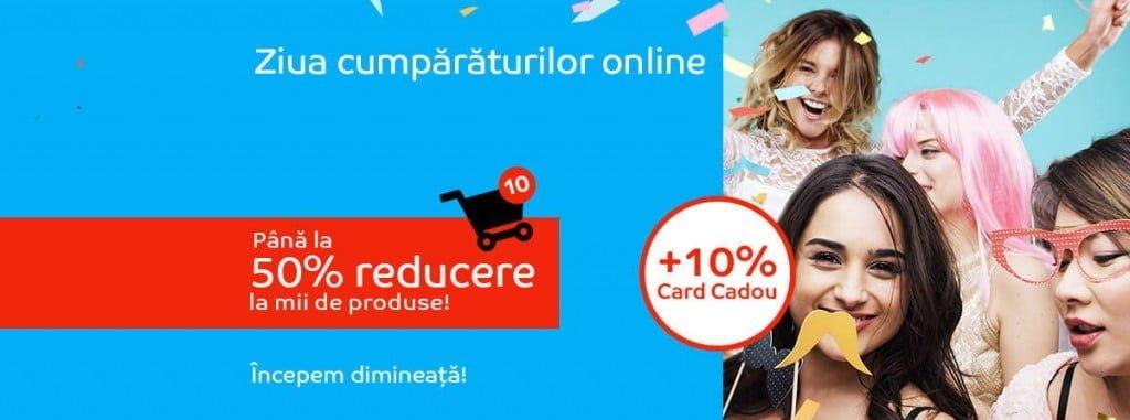 Reduceri eMAG Ziua cumparaturilor online 29 martie