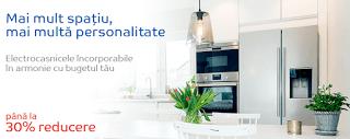 Promotii electrocasnice incorporabile pentru bucatarie.