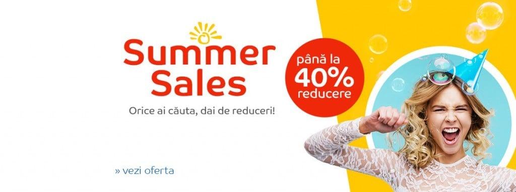 Reduceri eMAG Summer Sales iulie