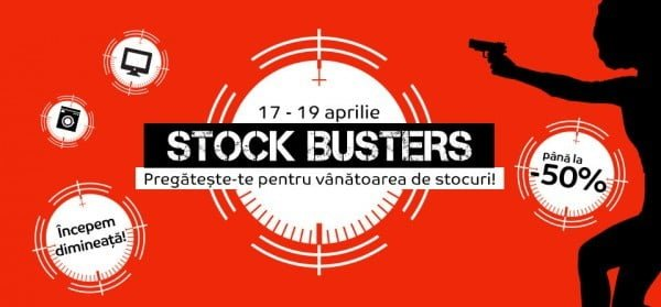 stock busters emag aprilie
