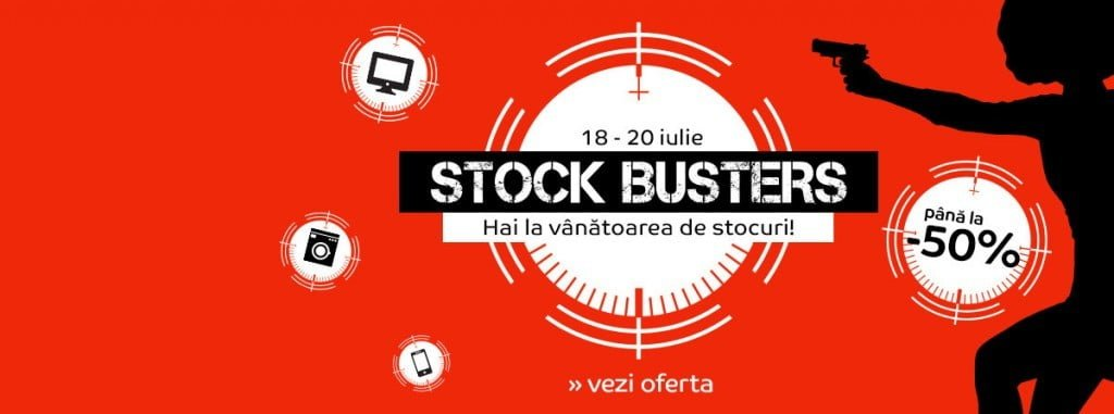 Oferte eMAG Stock Busters