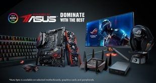 Desktop gaming Powered by Asus