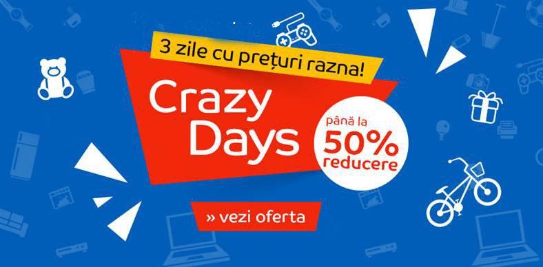 Oferte eMAG Crazy Days 2021