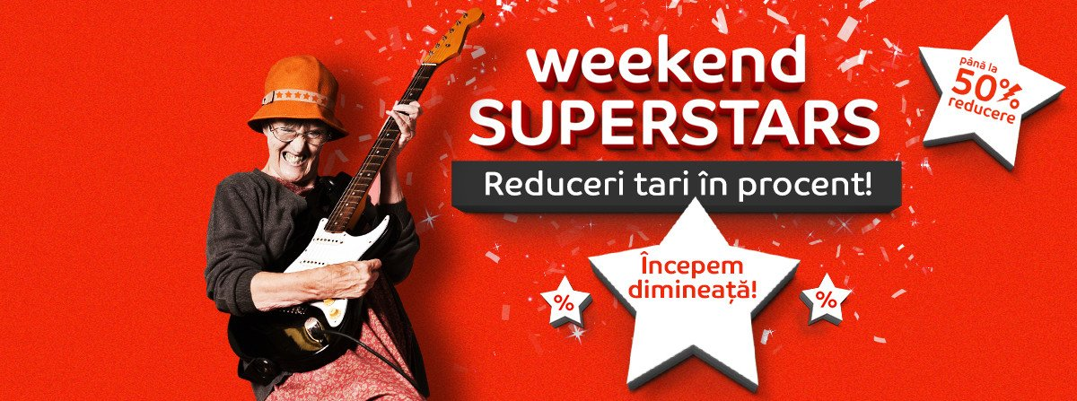 Oferte eMAG in weekend