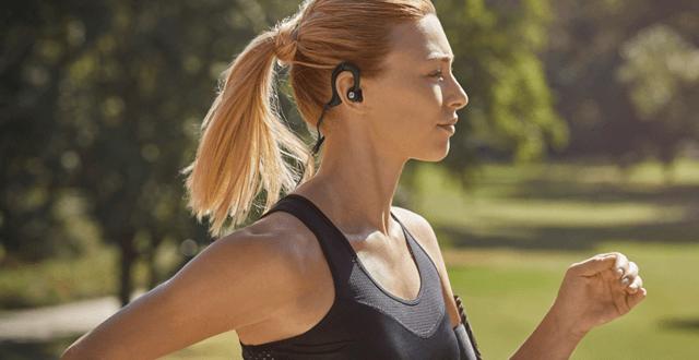 Casti pentru alergare si ciclism
