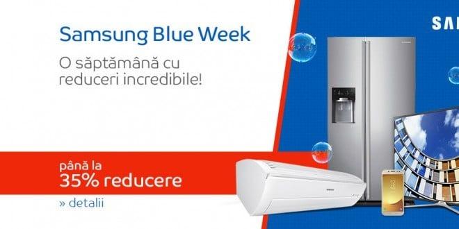 Oferte eMAG Samsung Blue Week-reduceri incredibile