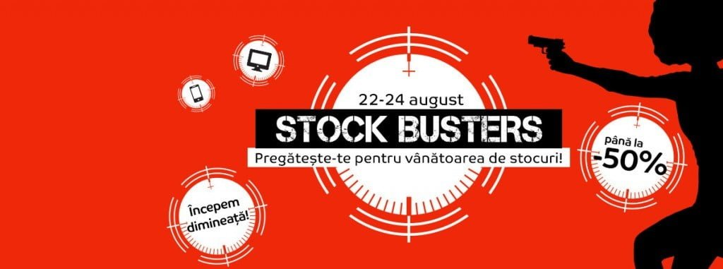 Oferte eMAG Stock Busters August