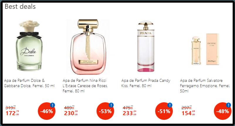 Oferte eMAG parfumuri