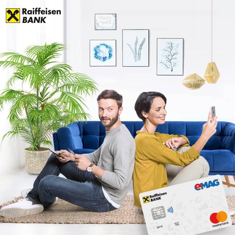 Card eMAG Raiffeisen 24 rate fara dobanda