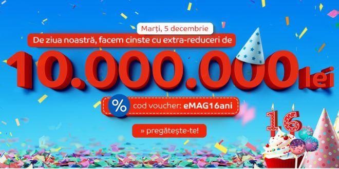 Ziua eMAG are loc in 5 decembrie 2017