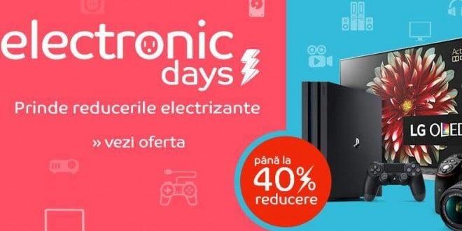 eMAG Electronic Days incepe pe 21 ianuarie dimineata