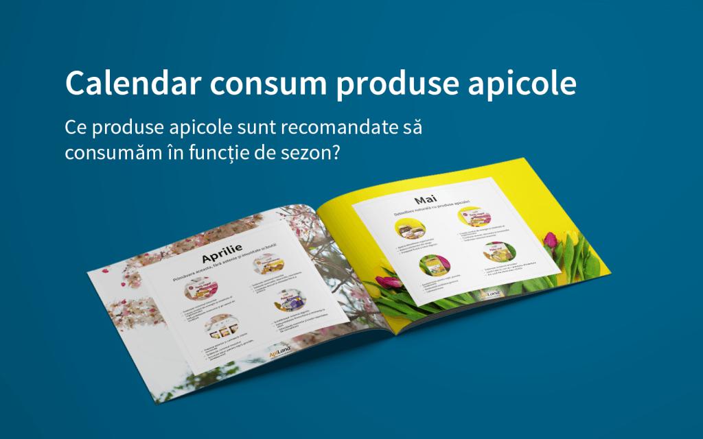Calendar consum produse apicole