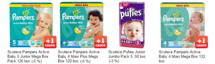 oferta-scutece-pampers-pufies-emag