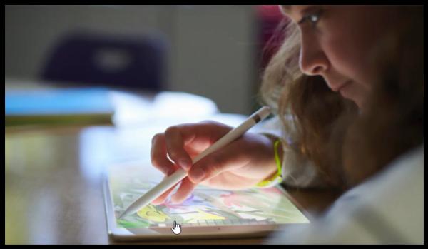 iPad 9.7 inch dedicat scolarilor
