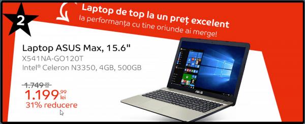 Laptop eMAG Revolutia Preturilor Septembrie 2018