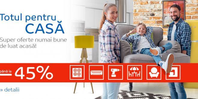 Reduceri eMAG cumparaturi pentru Casa ta in luna august