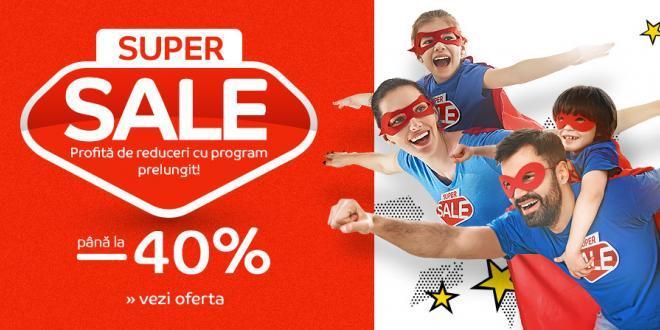 eMAG Super Sale in noiembrie reduceri pana la 40%