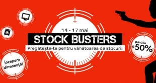 stock busters emag mai