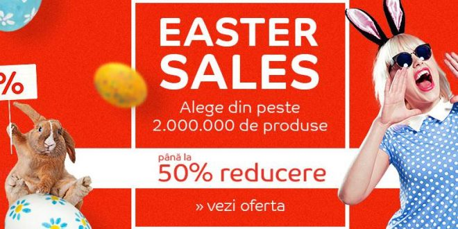 Reduceri eMAG Easter Sales de Paste
