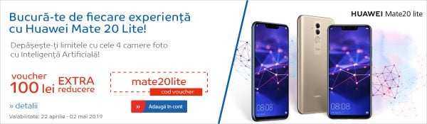 emag cod reducere huawei mate