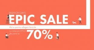 reduceri epic sale fashion days