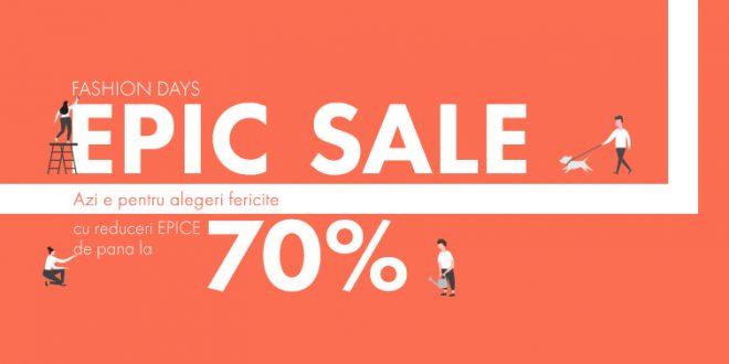 reduceri epic sale fashion days