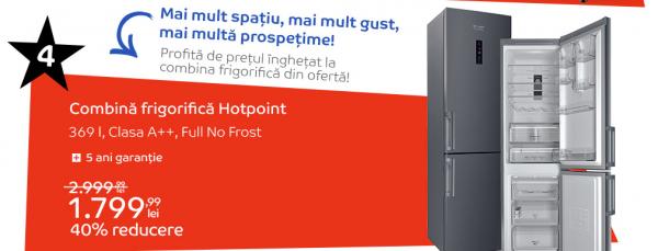 Combina frigorifica Hotpoint Revolutia Preturilor eMAG
