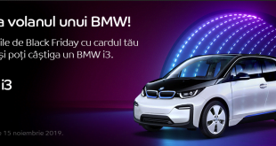 Castiga un BMW i3 de Black Friday eMAG