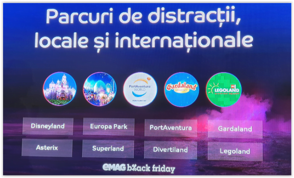 Parcuri de distractii locale si internationale bilete