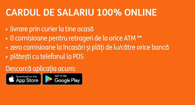 deschide cont si card de salariu online