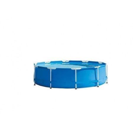 piscina rotunda supraterana cardu metalic