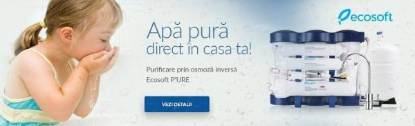 Aqualine-Ecosoft filtrare apa