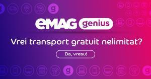 transport gratuit emag genius